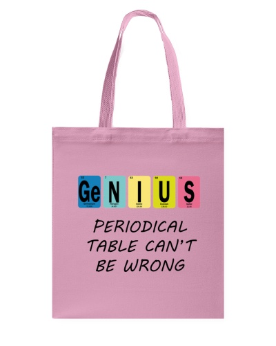 Genius Periodic Table Can't Be Wrong