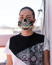 Sugar Skull Face Mask Masks Official Cloth face mask aos-face-mask-lifestyle-04