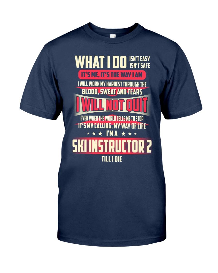 T SHIRT SKI INSTRUCTOR 2 Classic T-Shirt