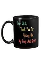 Dad Thanks For Picking Up My Poop Mug back