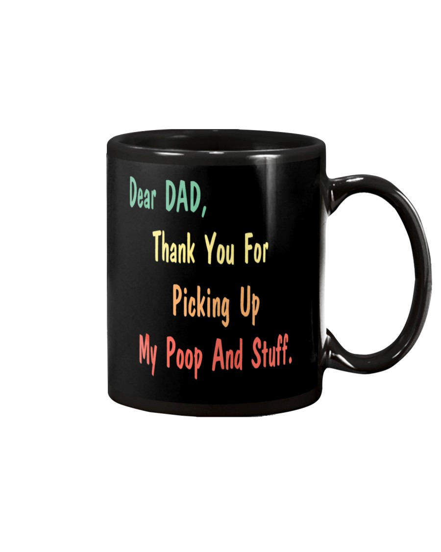 Dad Thanks For Picking Up My Poop Mug