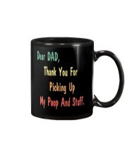 Dad Thanks For Picking Up My Poop Mug front