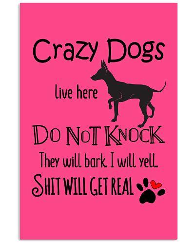 CRAZY DOG POSTER