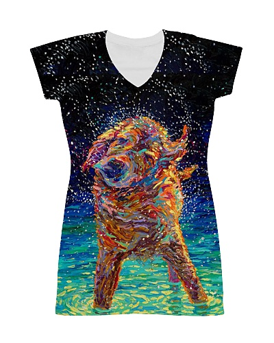 DRESS FOR DOG LOVER