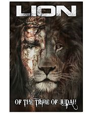 LION OF THE TRIBE OF JUDAH 11x17 Poster front