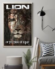 LION OF THE TRIBE OF JUDAH 11x17 Poster lifestyle-poster-1