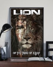 LION OF THE TRIBE OF JUDAH 11x17 Poster lifestyle-poster-2