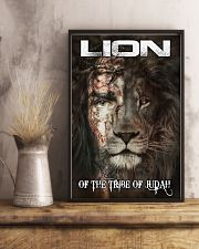 LION OF THE TRIBE OF JUDAH 11x17 Poster lifestyle-poster-3