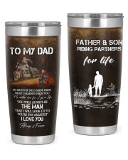 TO MY DAD 20oz Tumbler front
