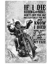 RIDE MY BIKE 24x36 Poster front