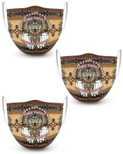 NATIVE AMERICAN MASK 3 Layer Face Mask - 3 Pack front