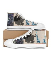 the Patch Men's High Top White Shoes thumbnail