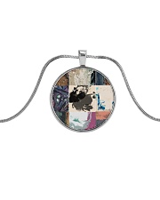 the Patch Metallic Circle Necklace thumbnail