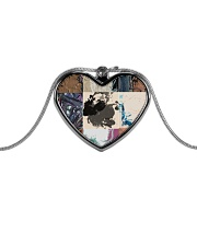 the Patch Metallic Heart Necklace thumbnail