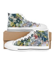 Living Streets Men's High Top White Shoes thumbnail