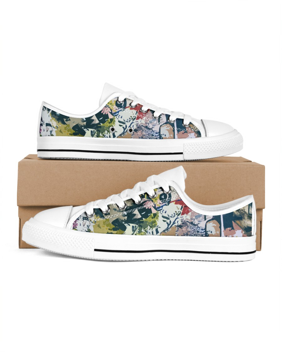 Living Streets Men's Low Top White Shoes