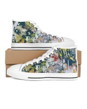 Living Streets Women's High Top White Shoes thumbnail