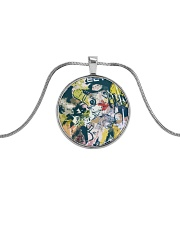 Living Streets Metallic Circle Necklace thumbnail