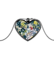 Living Streets Metallic Heart Necklace thumbnail