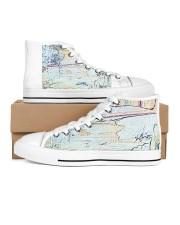 NightLounge Women's High Top White Shoes thumbnail