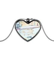 NightLounge Metallic Heart Necklace thumbnail