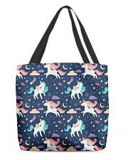 unicorn pattern All-over Tote thumbnail