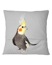 cockatiel pillow Square Pillowcase back