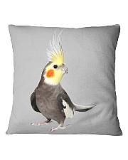 cockatiel pillow Square Pillowcase front