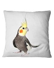 cockatiel pillow Square Pillowcase tile