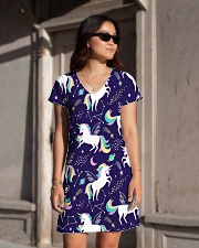 unicorn  All-over Dress aos-dress-front-lifestyle-1