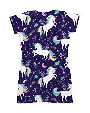 unicorn  All-over Dress back