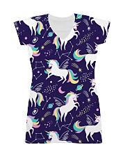 unicorn  All-over Dress front
