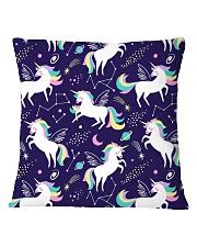 unicorn  Square Pillowcase thumbnail