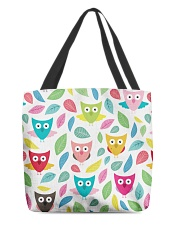 owl pattern All-over Tote thumbnail