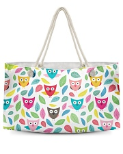 owl pattern Weekender Tote thumbnail
