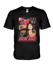 jhene aiko back on my bs V-Neck T-Shirt thumbnail