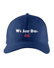 we just did 46 hat Embroidered Hat front