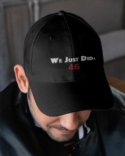 we just did 46 hat Embroidered Hat garment-embroidery-hat-lifestyle-02