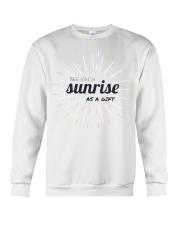 Sun rise in T-shirt america  printing  Crewneck Sweatshirt thumbnail