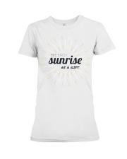 Sun rise in T-shirt america  printing  Premium Fit Ladies Tee thumbnail