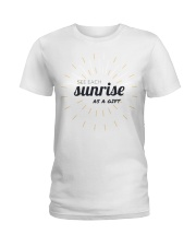 Sun rise in T-shirt america  printing  Ladies T-Shirt thumbnail