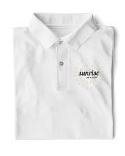 Sun rise in T-shirt america  printing  Classic Polo front