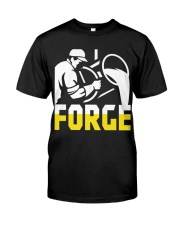 Foundry Worker Pouring Molten Metal  Premium Fit Mens Tee thumbnail
