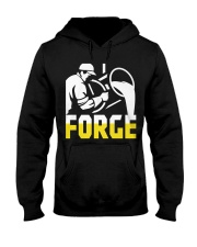 Foundry Worker Pouring Molten Metal  Hooded Sweatshirt thumbnail
