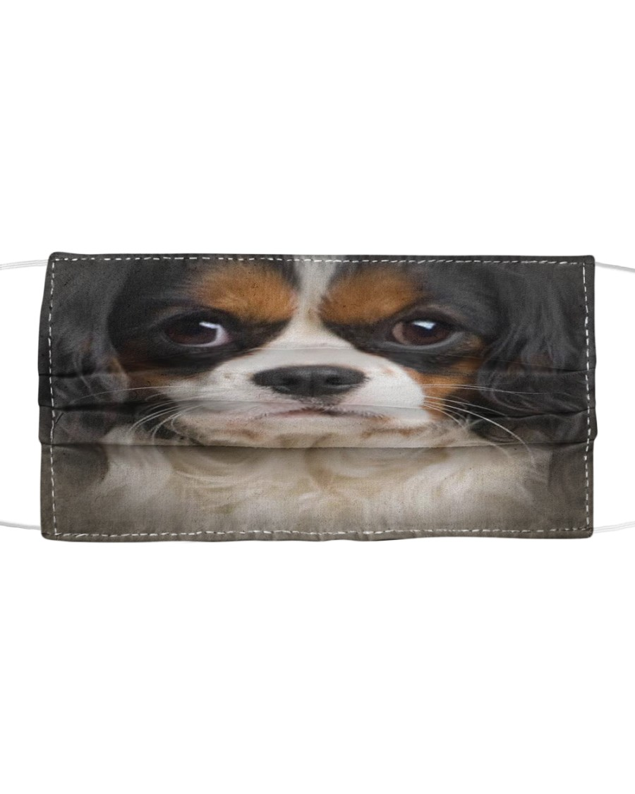 Cavalier King Charles Spaniel Cloth face mask
