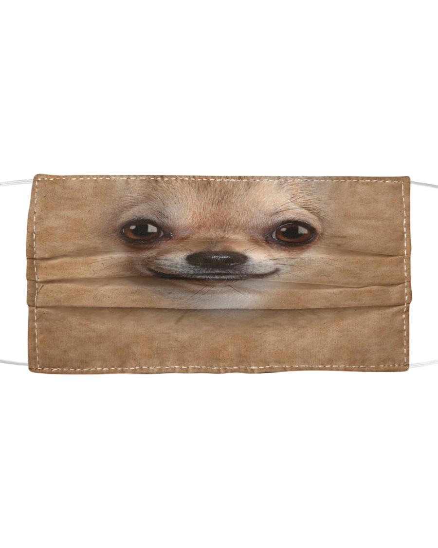 Chihuahua Cloth face mask