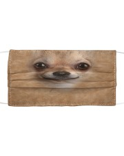 Chihuahua Cloth face mask front
