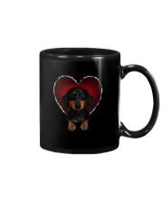 Dachshund In Heart Mug tile