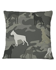 Boxer Camouflage Square Pillowcase tile