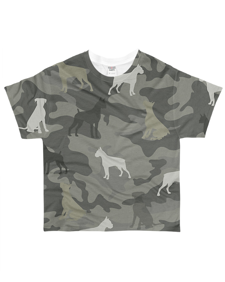 Boxer Camouflage All-over T-Shirt